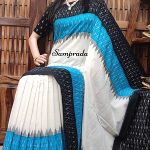 Baruni - Ikkat Cotton Saree without Blouse