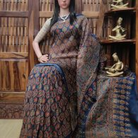 Cauvery - Chanderi Sico Saree