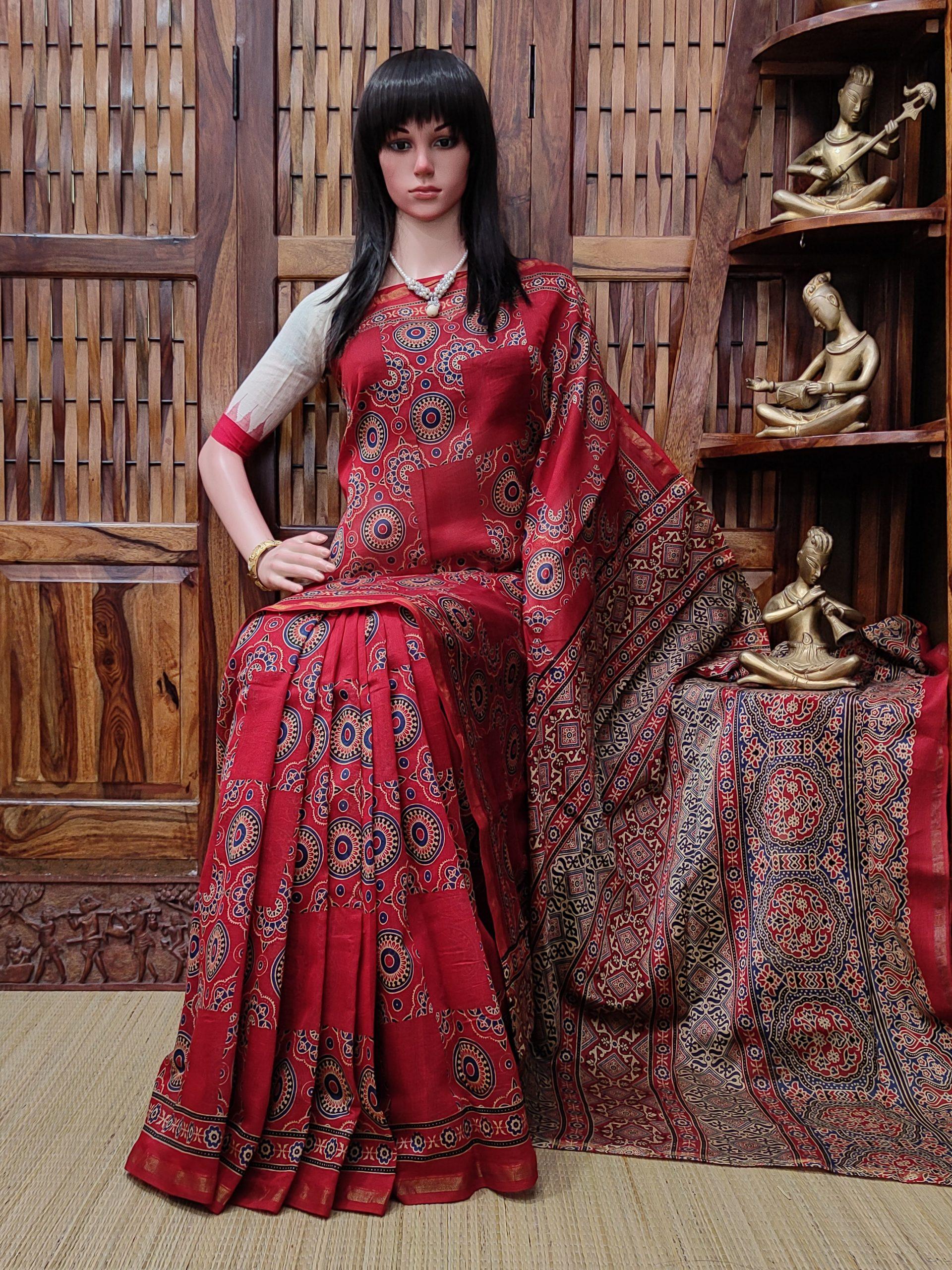 Chanasyaa - Chanderi Sico Saree