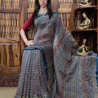 Chandika - Chanderi Sico Saree