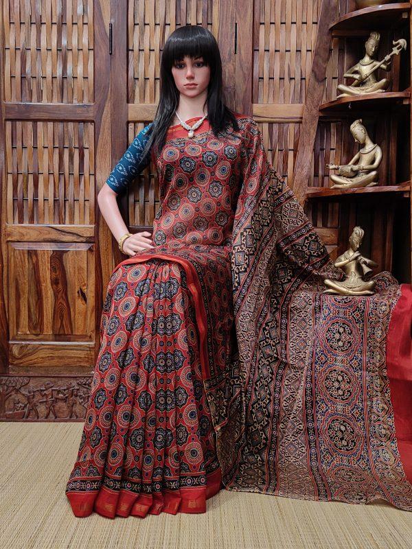 Chandni - Chanderi Sico Saree