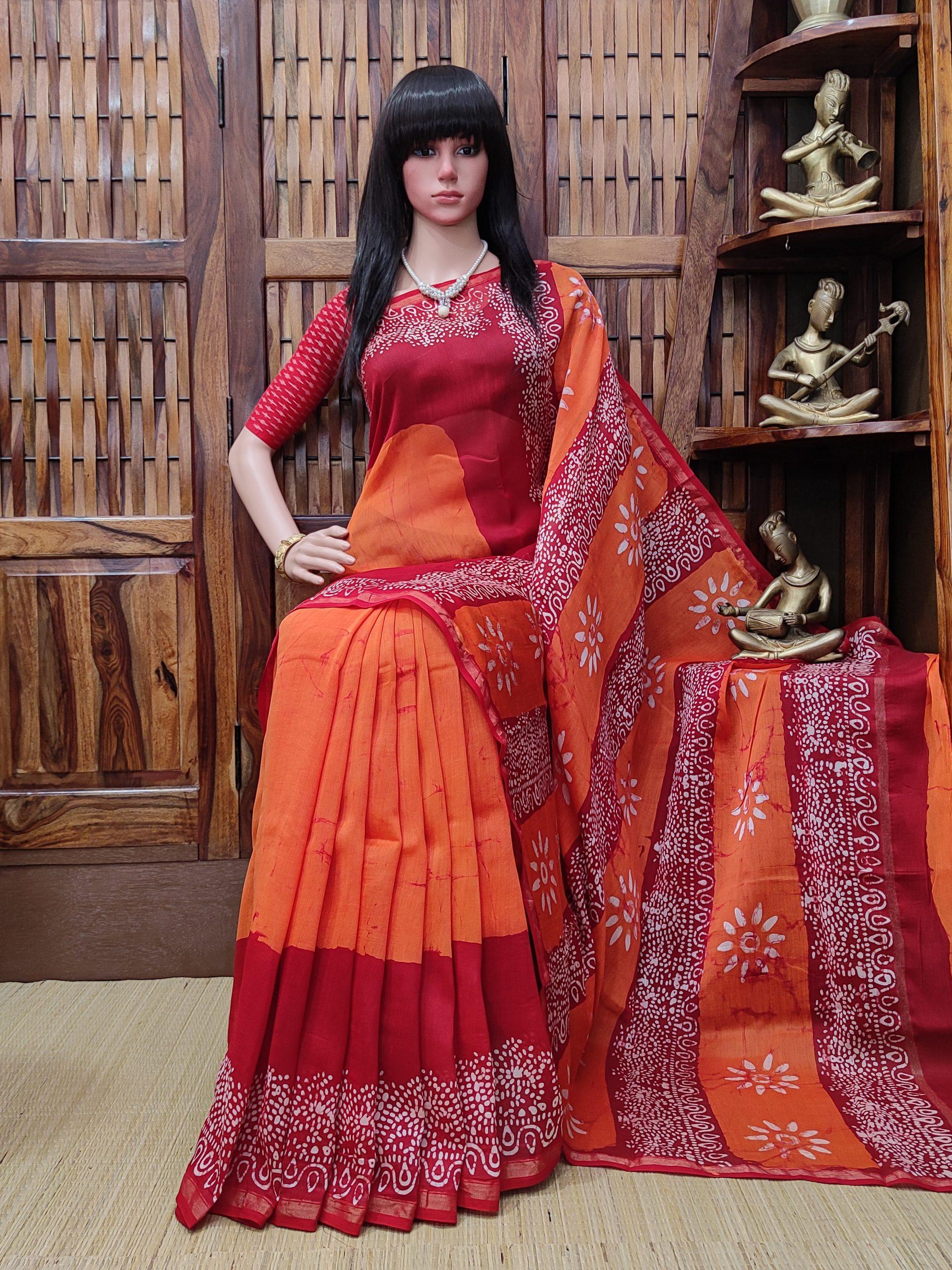 Charusmitha - Chanderi Sico Saree