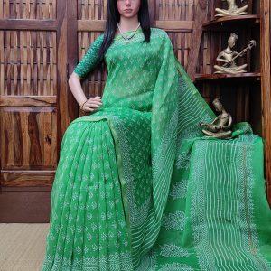 Charutha - Chanderi Sico Saree