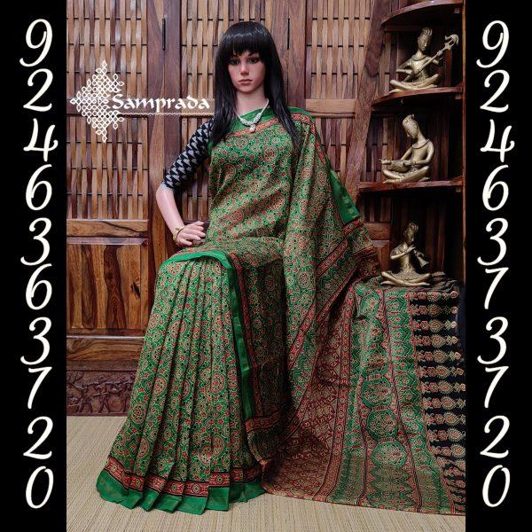 Chathura - Chanderi Sico Saree