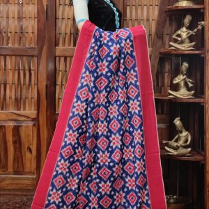 Daamaa - Double Ikkat Cotton Dupatta
