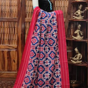 Daamini - Double Ikkat Cotton Dupatta