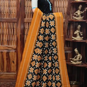 Daviya - Double Ikkat Cotton Dupatta