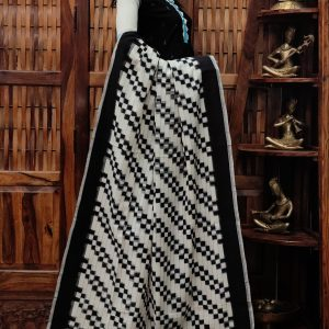 Deepkala - Double Ikkat Cotton Dupatta