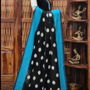 Devangi - Double Ikkat Cotton Dupatta