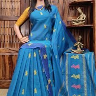 Bisalatha - Gollabama Buta Cotton Saree