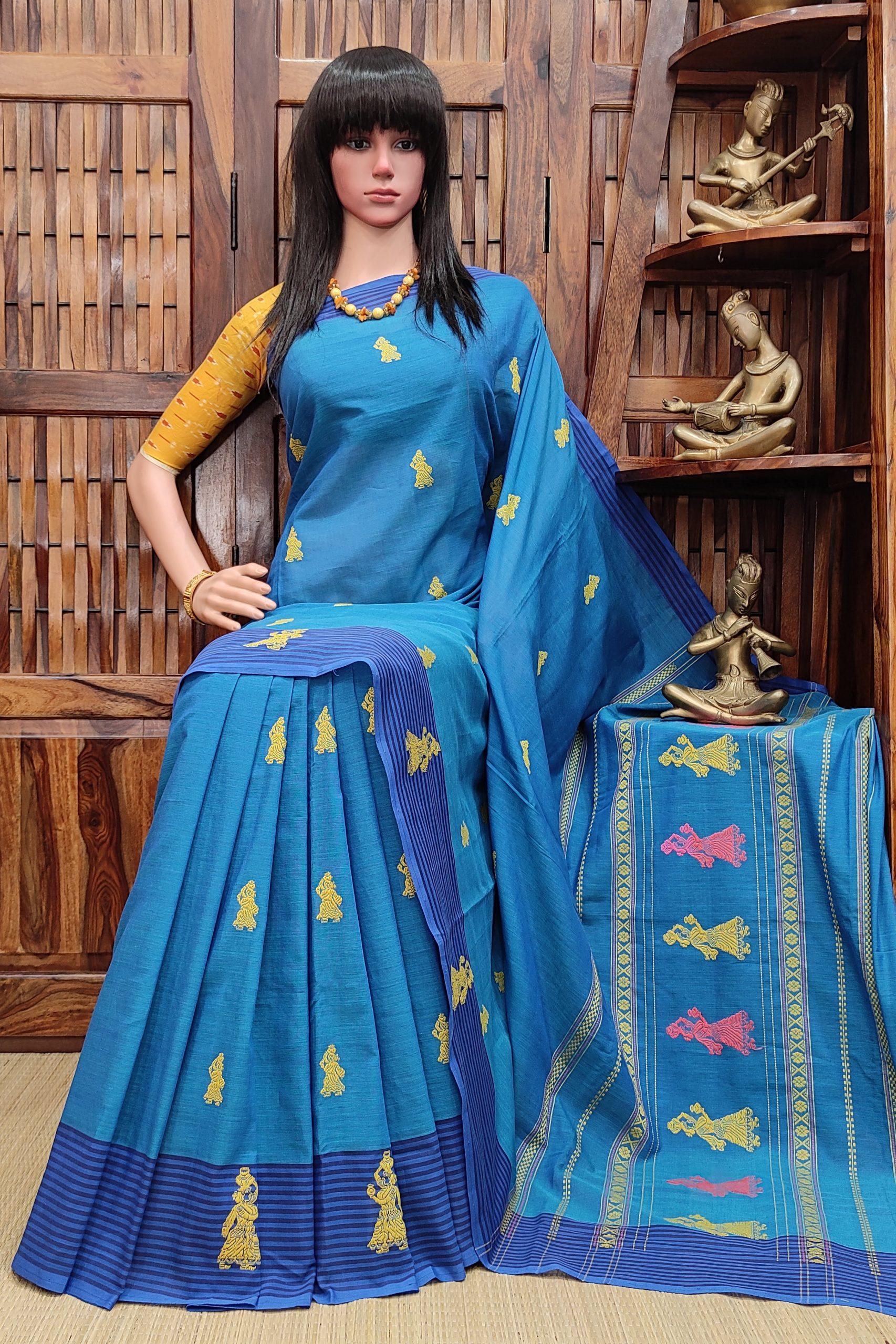 Bisalatha - Gollabama Buta Cotton Saree