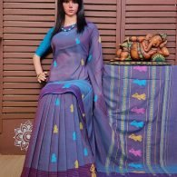 Bodhani - Gollabama Buta Cotton Saree