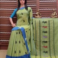Brindavani - Gollabama Buta Cotton Saree