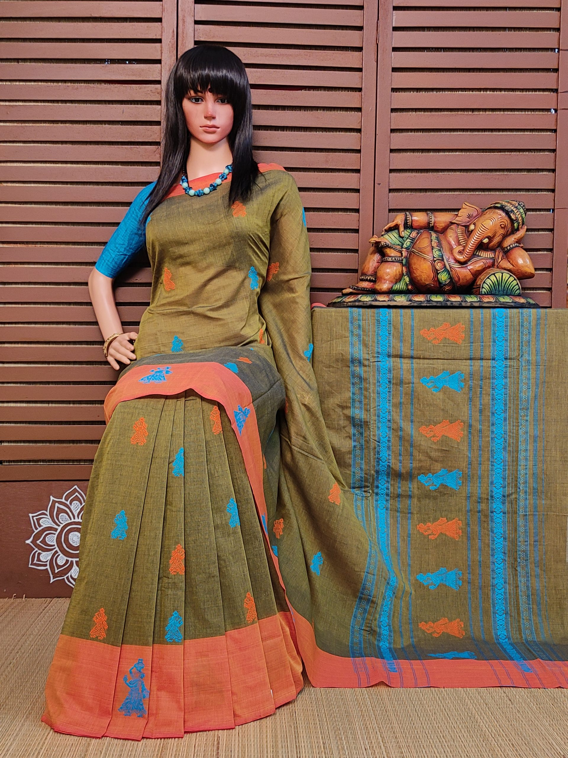 Chethasaa - Gollabama Buta Cotton Saree