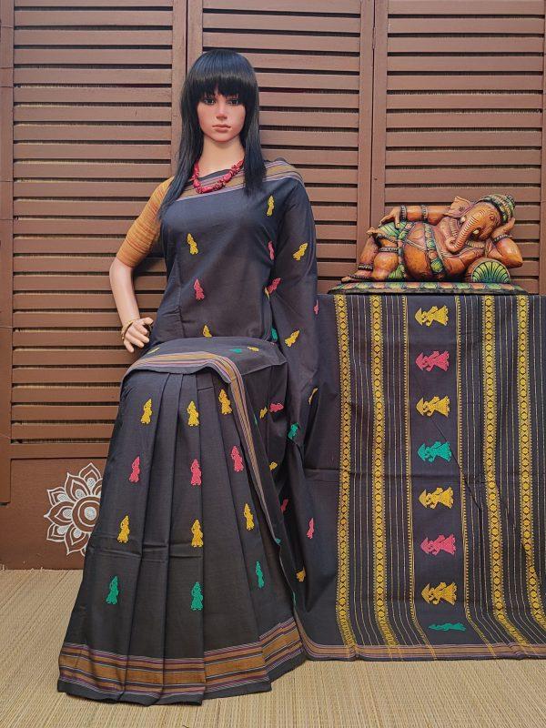 chhavii - Gollabama Cotton Saree