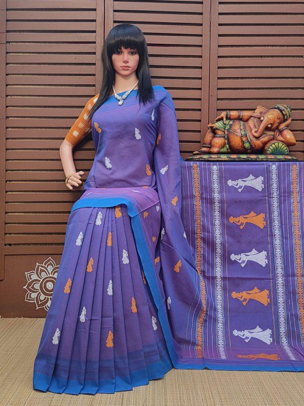 Ednita - Gollabama Cotton Saree