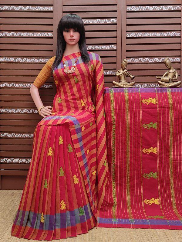 Ekatara - Gollabama Cotton Saree