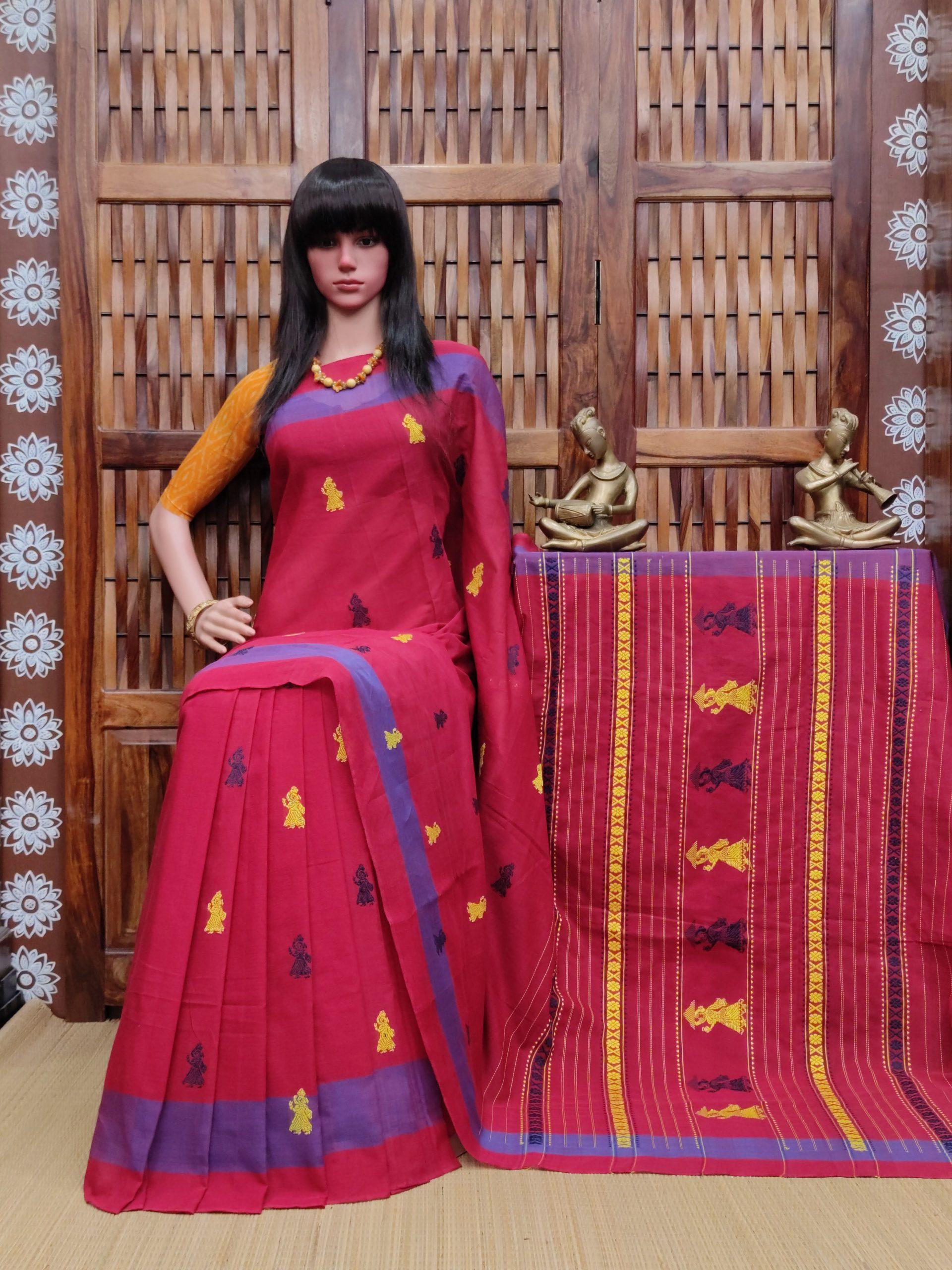 Ekatha - Gollabama Cotton Saree