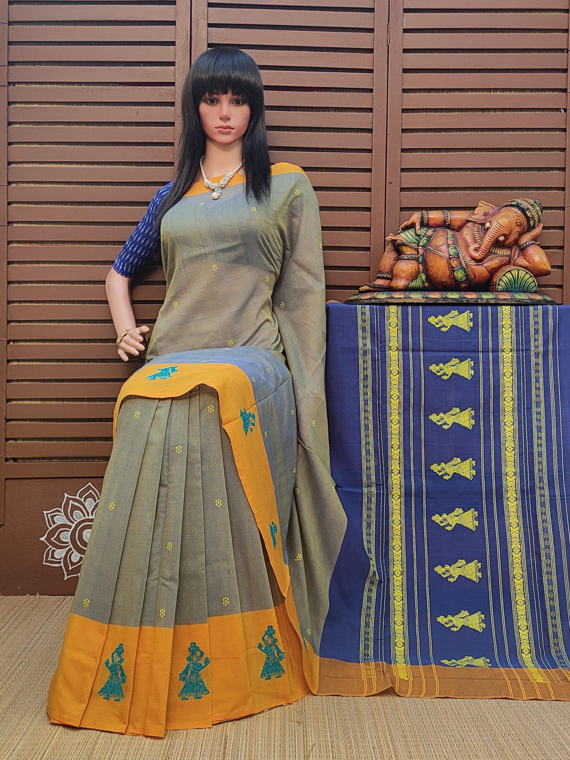 Gajara - Gollabama Cotton Saree