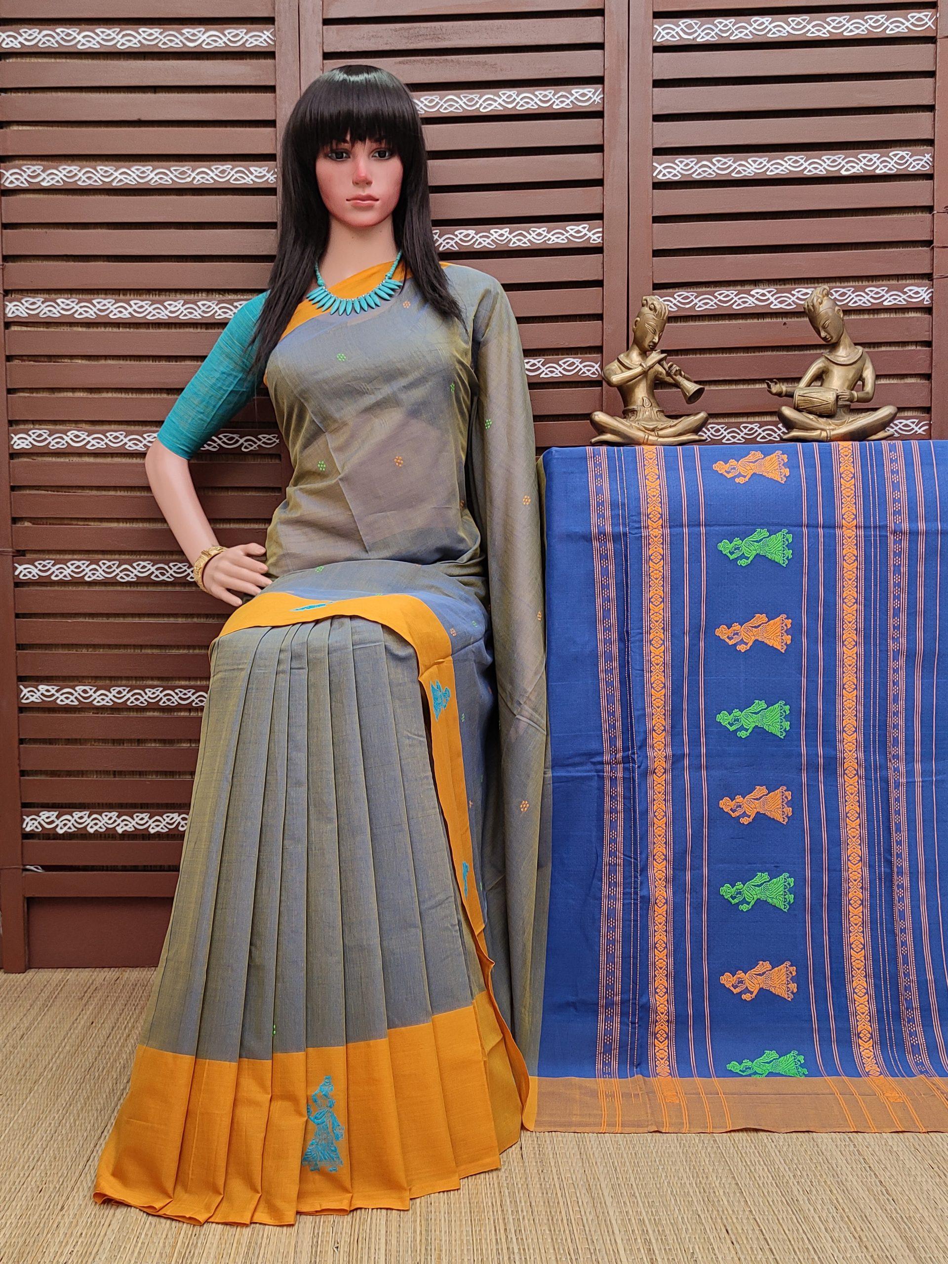 Ghoshini - Gollabama Cotton Saree