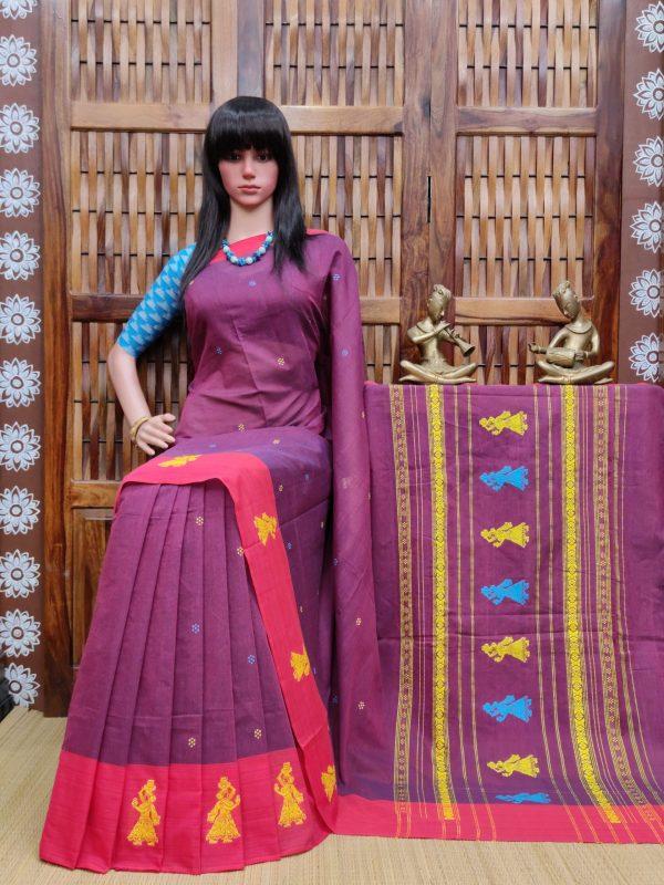 Gomthi - Gollabama Cotton Saree