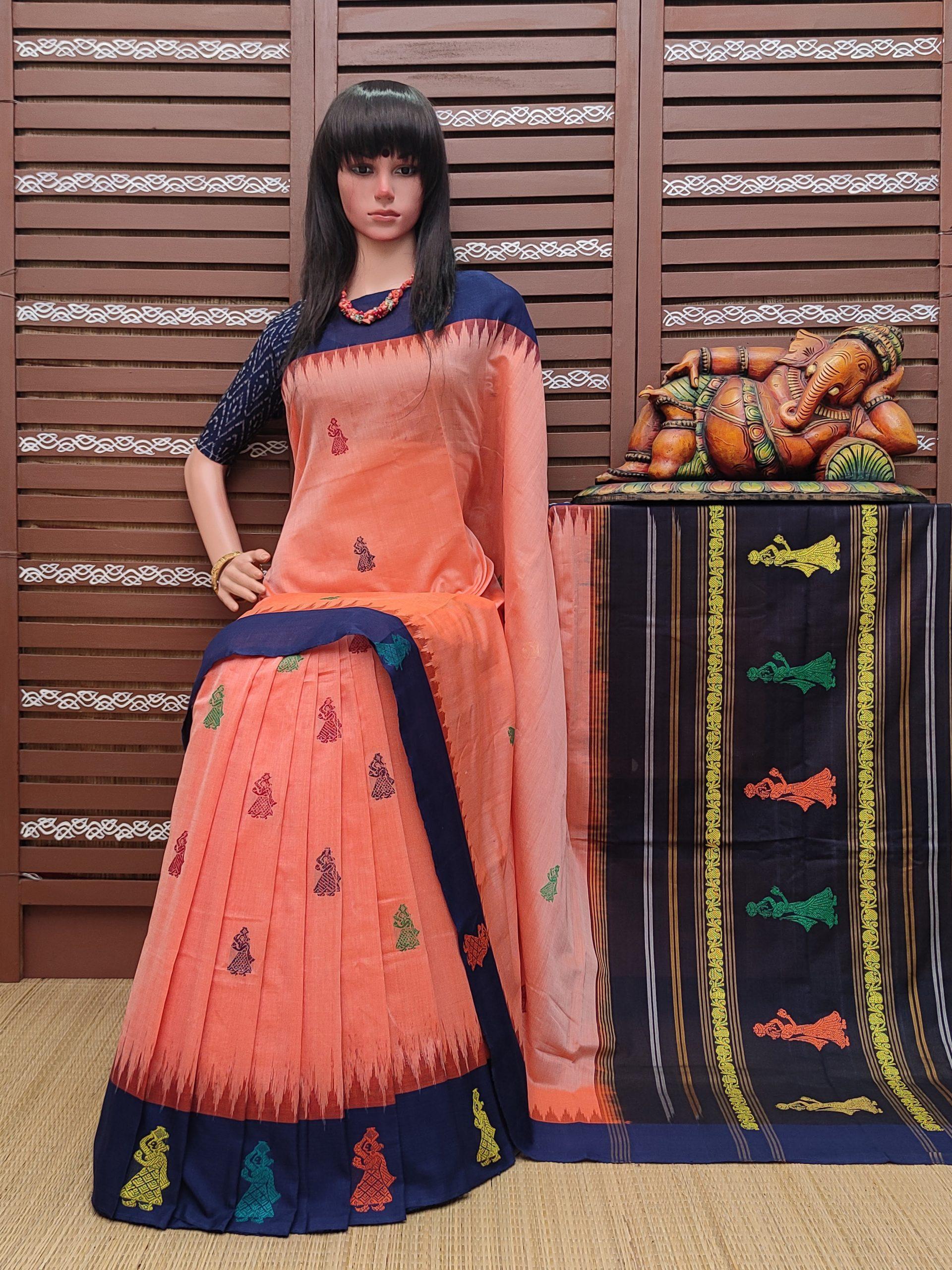 Hridyesa - Gollabama Cotton Saree