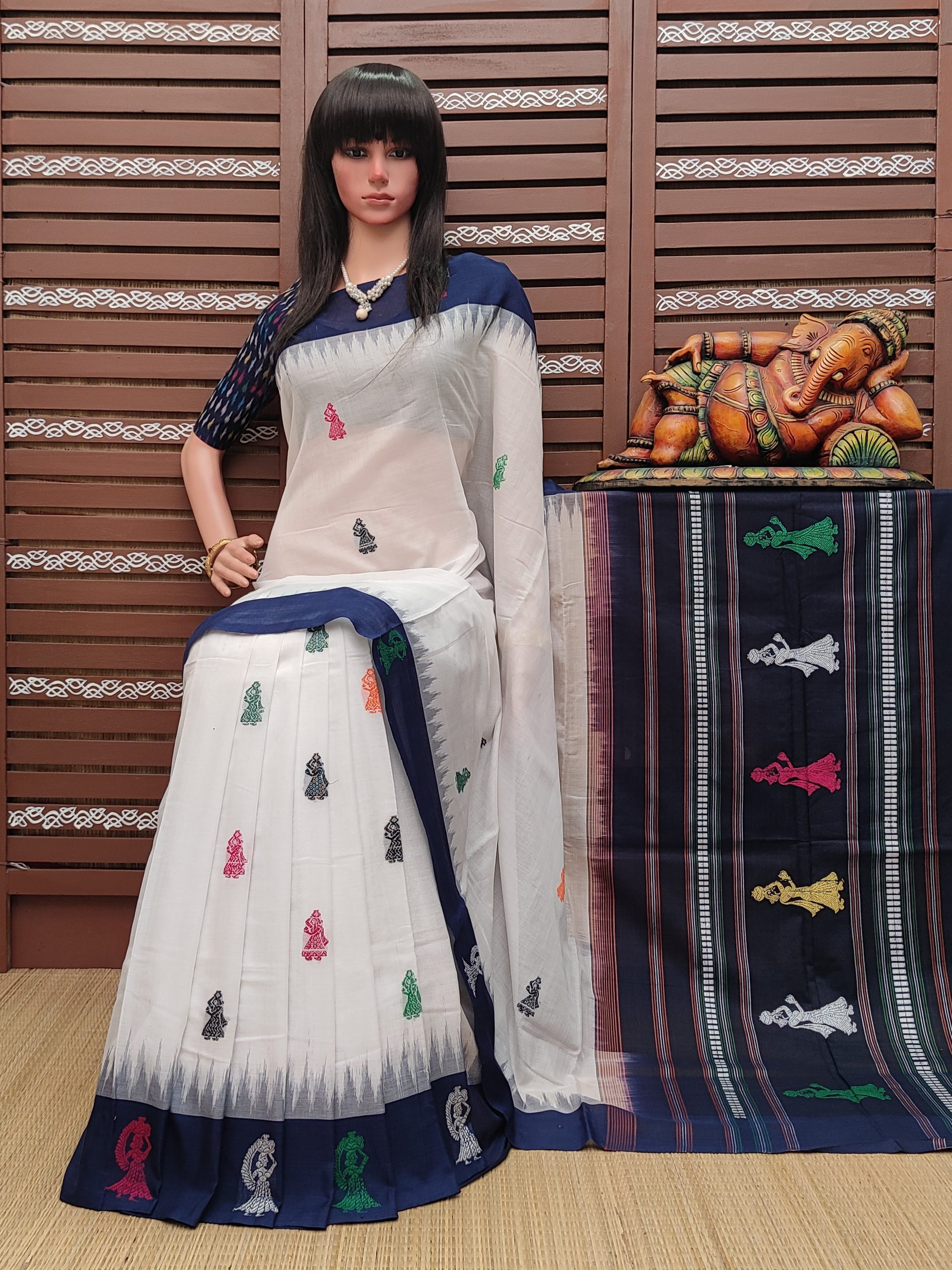 Kanchana - Gollabama Cotton Saree