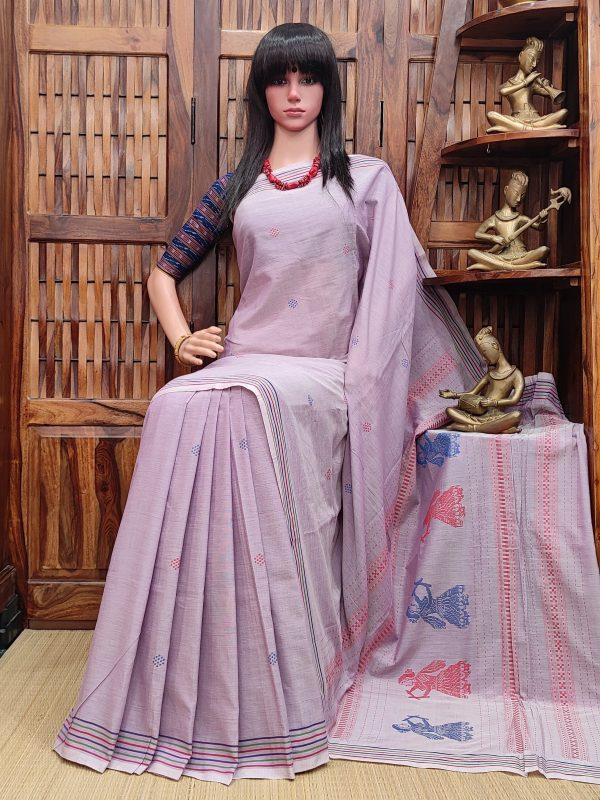 Hamasana - Gollabama Cotton Saree