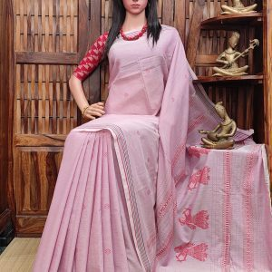 Hamsabrahmari - Gollabama Cotton Saree