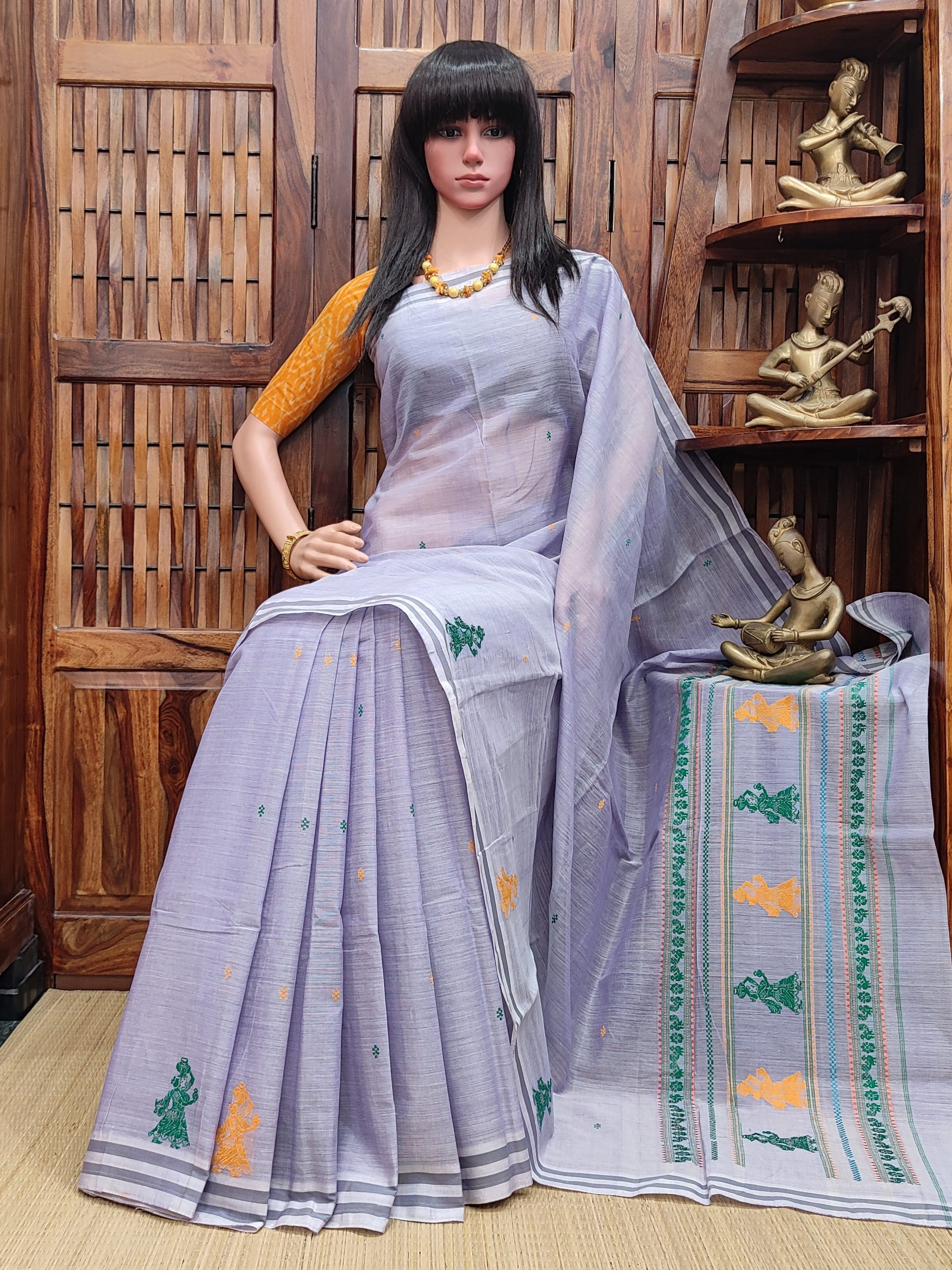 Hamsadeepika - Gollabama Cotton Saree