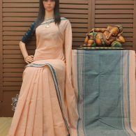 Haimantika - Handspun Jute Cotton Saree