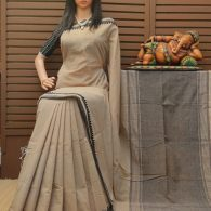 Harshada - Handspun Jute Cotton Saree