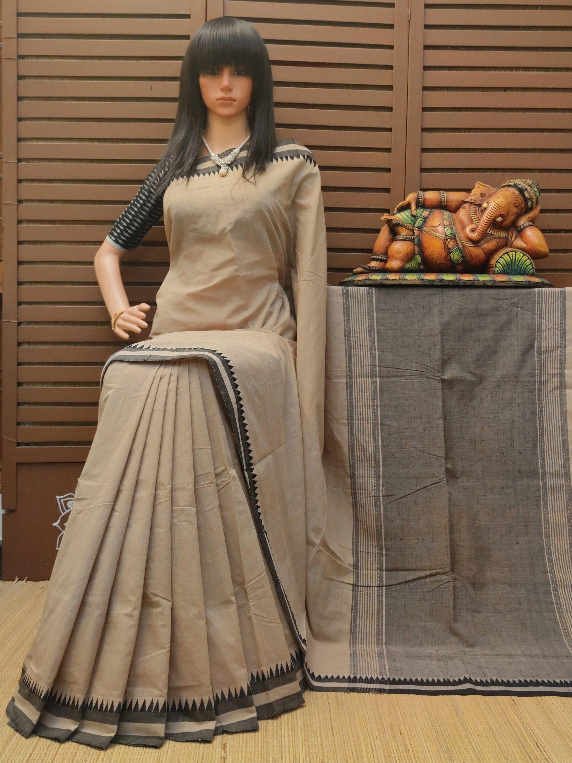 Harshada - Handspun Jute Cotton Saree
