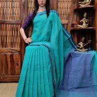Hemakshi - Handspun Jute Cotton Saree