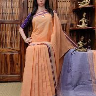 Hemambari - Handspun Jute Cotton Saree