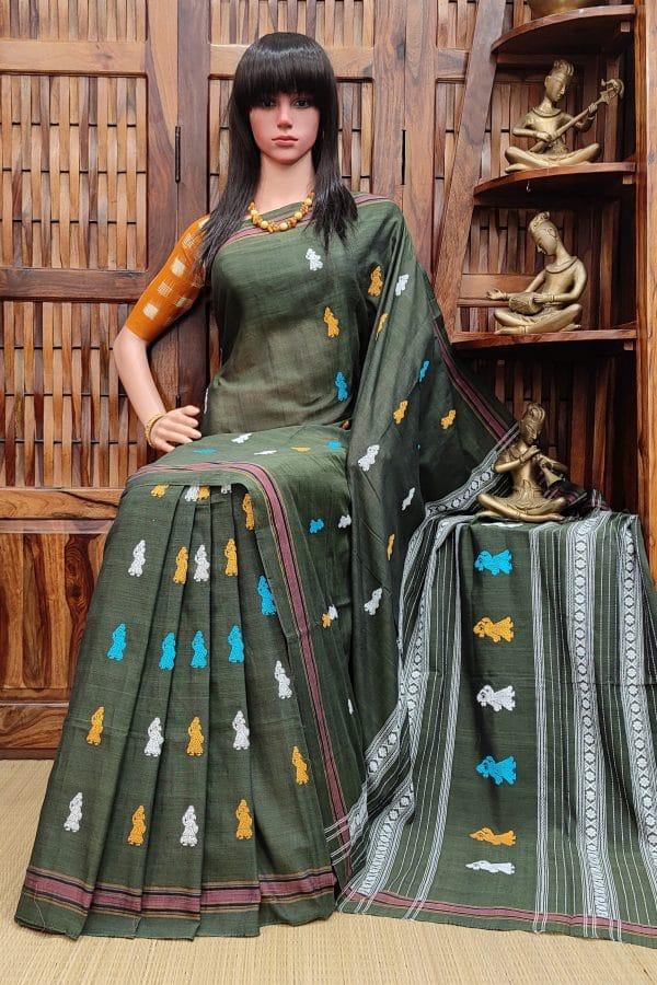 Hareenarayani - Gollabama Cotton Saree