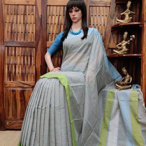 Ichchha - Jamdani Cotton Saree