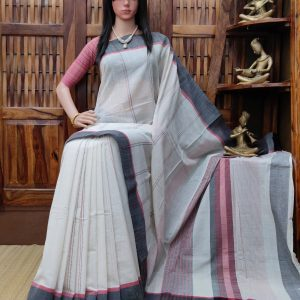 Iditri - Jamdani Cotton Saree