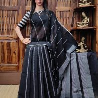 Ilesha - Jamdani Cotton Saree