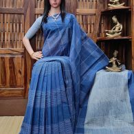 Ilvaka - Jamdani Cotton Saree