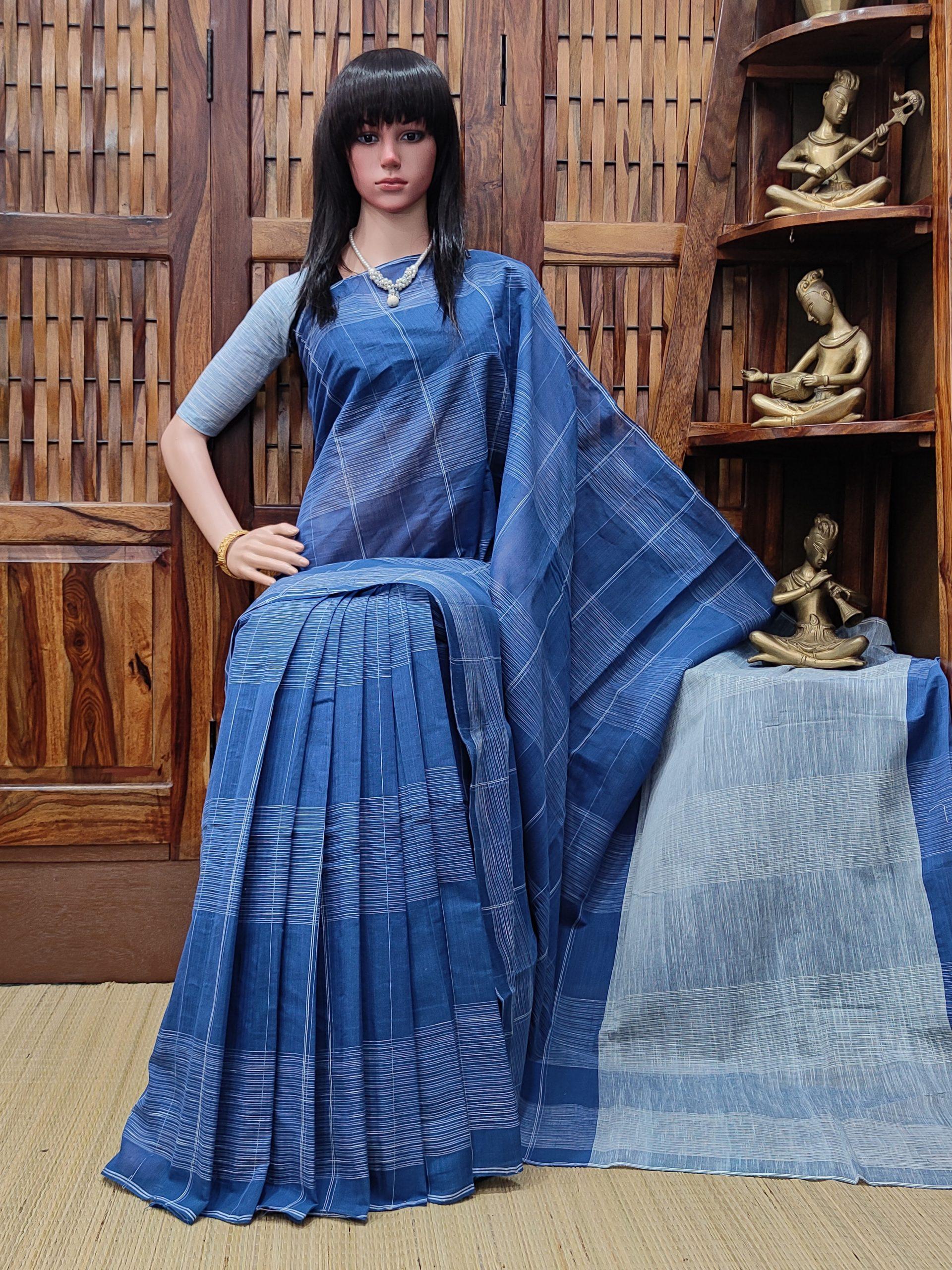 Ilvaka - Jamdani Cotton Saree