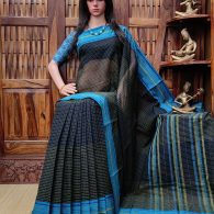 Indubala - Jamdani Cotton Saree
