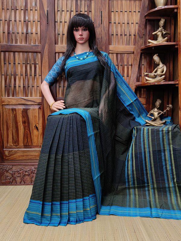 Indubala - Jamdani Cotton Saree