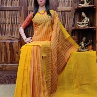 Indulala - Jamdani Cotton Saree