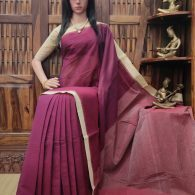 Induprabha - Jamdani Cotton Saree