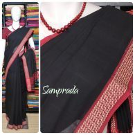 Jaagravi - Jamdani Cotton Saree
