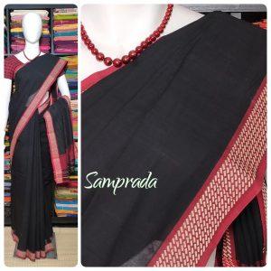 Jaagravi - Jamdani Cotton Saree