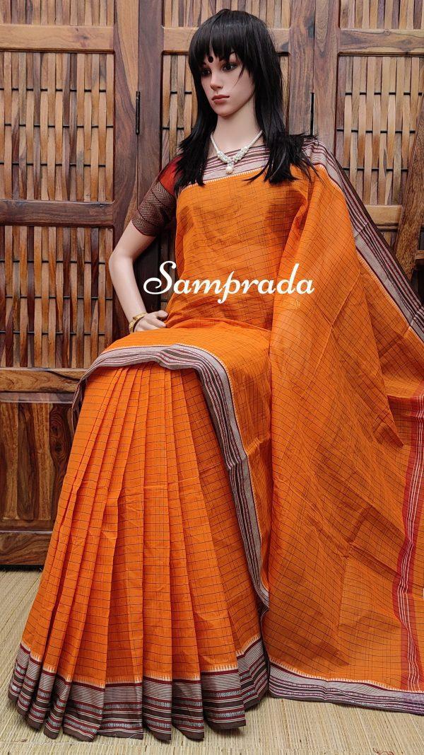 Jagadamba - Jamdani Cotton Saree
