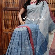 Jaladhija - Jamdani Cotton Saree