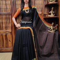 Jambavathy - Jamdani Cotton Saree